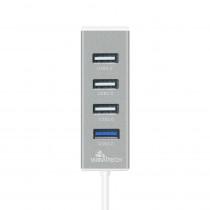 PHU-1017 USB 2.0/3.0 HUB 4 PORTE