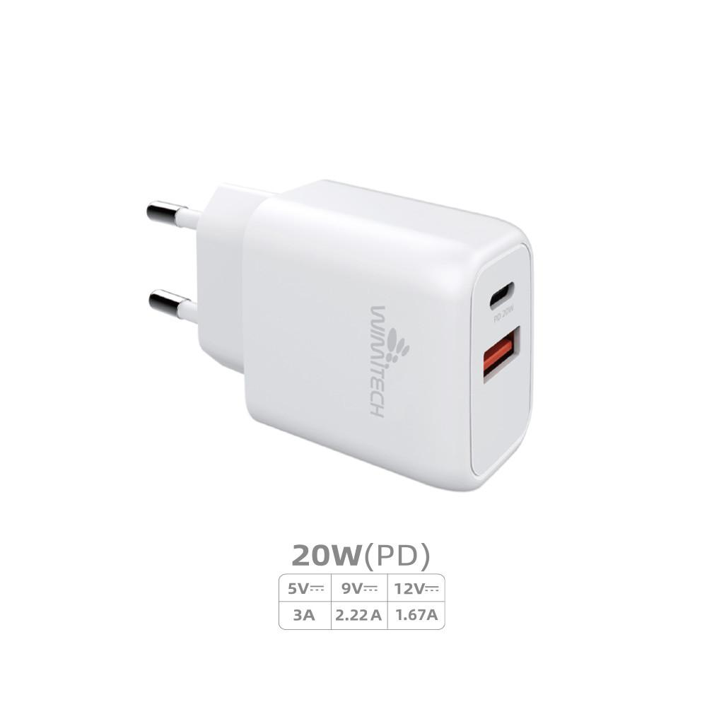 CCT-1078 CARICATORE DA RETE USB-C PD 20W