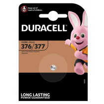 DURACELL SILVER BATTERY 376 377