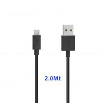 CAQ-86-BK CAVO USB2.0 M/MICRO USB 2M