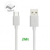 CAQ-94-WT CAVO USB2.0 TIPO C/A M/M 2M