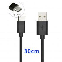 CAQ-98 CAVO USB2.0 TIPO C/A M/M 30CM