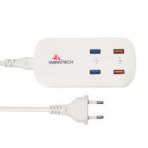 CCT-1064 CARICATORE DA RETE CON 4 PORTE USB 5V/4.2A