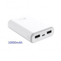 CCT-430-WT CARICATORE POWER BANK 10000MAH DC5V/2A
