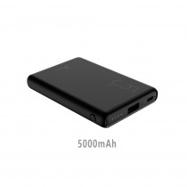 CCT-432-BK CARICATORE POWER BANK 5000MAH DC5V/2A