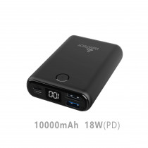 CCT-435-BK CARICATORE POWER BANK 10000MAH 18W PD