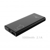 CCT-436-BK CARICATORE POWER BANK 5000MAH DC5V/2A