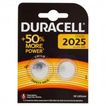 DURACELL DL/CR 2025 LITHIUM BATTERY 3V