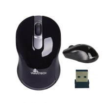 MSW-1007-BK MOUSE OTTICO WIRELESS 1000DPI