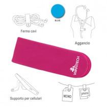 PAC-01-BL FASCETTA CON CLIP MAGNETICA