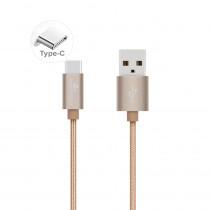 CAQ-103-GD CAVO USB2.0 TIPO C/A M/M 1M